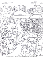 New York City Coloring Book Pages